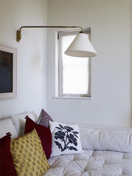 Bespoke white lampshade - made to order