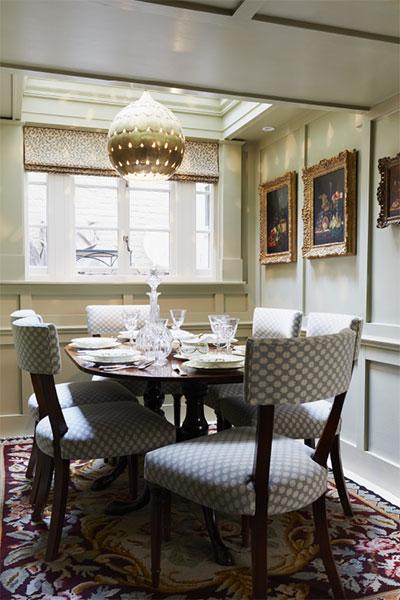 Stunning dining room lampshade